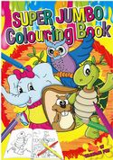 Tallon A4 Activity Super Jumbo Colouring Book